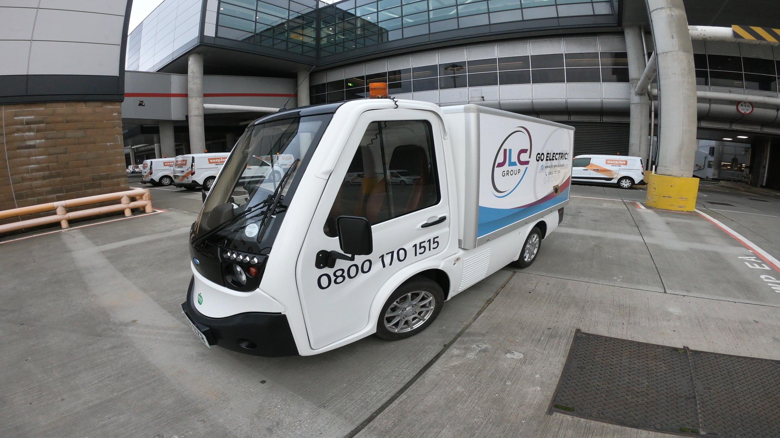 Fully Electric ECO Van